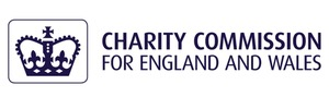 Charity Commission Logo - they are the England and Wales body who have responsibilities for charities.