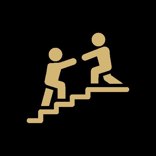 Help logo gold